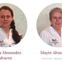 Mayte y Blanca, guisanderas del restaurante Casa Lula